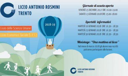 """LICEO """"ANTONIO ROSMINI"""" TRENTO – PRESENTAZIONE"""